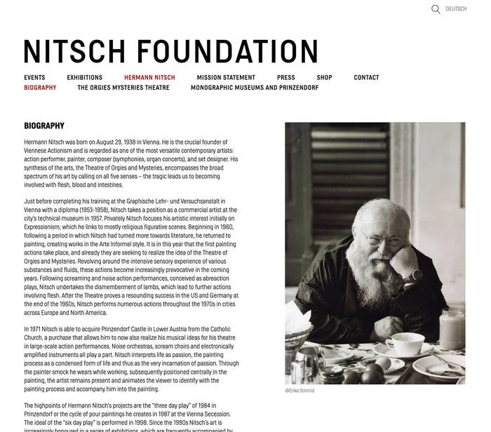 Nitsch Foundation 3