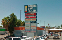 South Bay Plaza sign