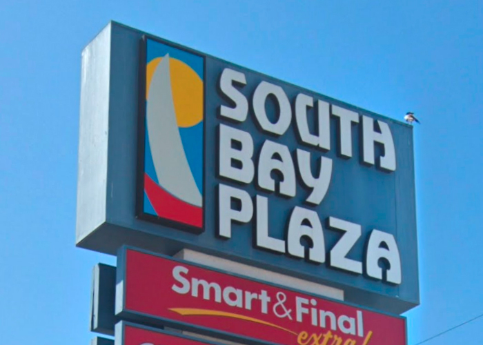 South Bay Plaza sign 3