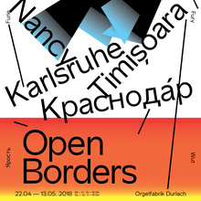 <cite>Open Borders</cite> exhibition