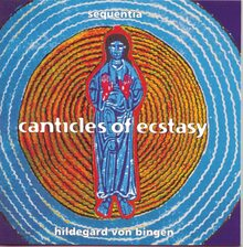 Sequentia – <cite> Canticles of Ecstasy</cite> album art