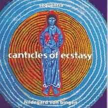 Sequentia – <cite> Canticles of Ecstasy</cite> album art