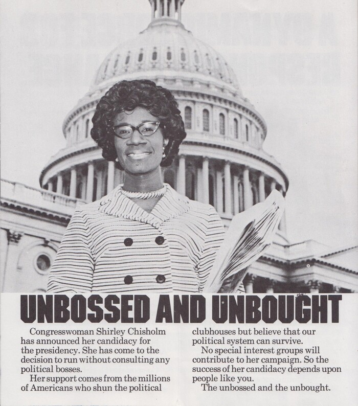 Shirley Chisholm 1972 presidential campaign 7