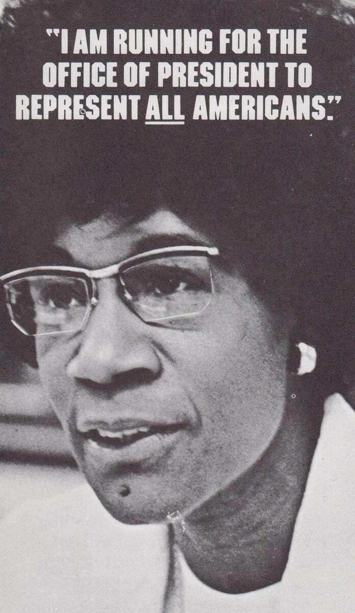 Shirley Chisholm 1972 presidential campaign 8