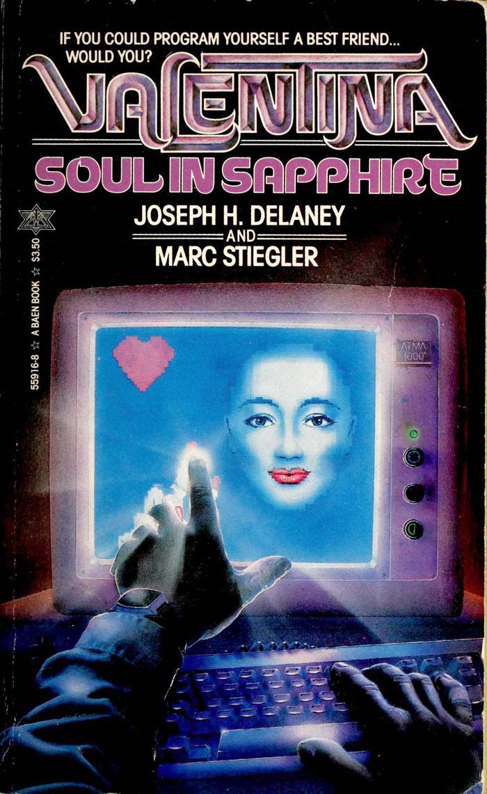 Valentina. Soul in Sapphire by Joseph H. Delaney and Marc Stiegler 1