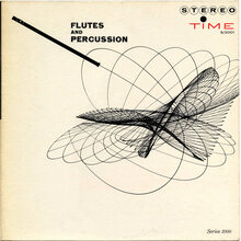 Hal Mooney – <cite>Flutes And Percussion</cite> album art