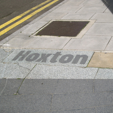 Hoxton & South Shoreditch boundary signs