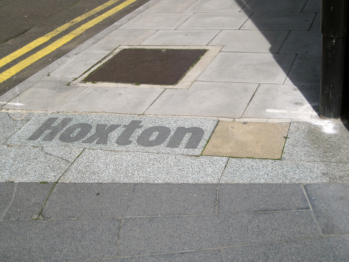 Hoxton & South Shoreditch boundary signs 2