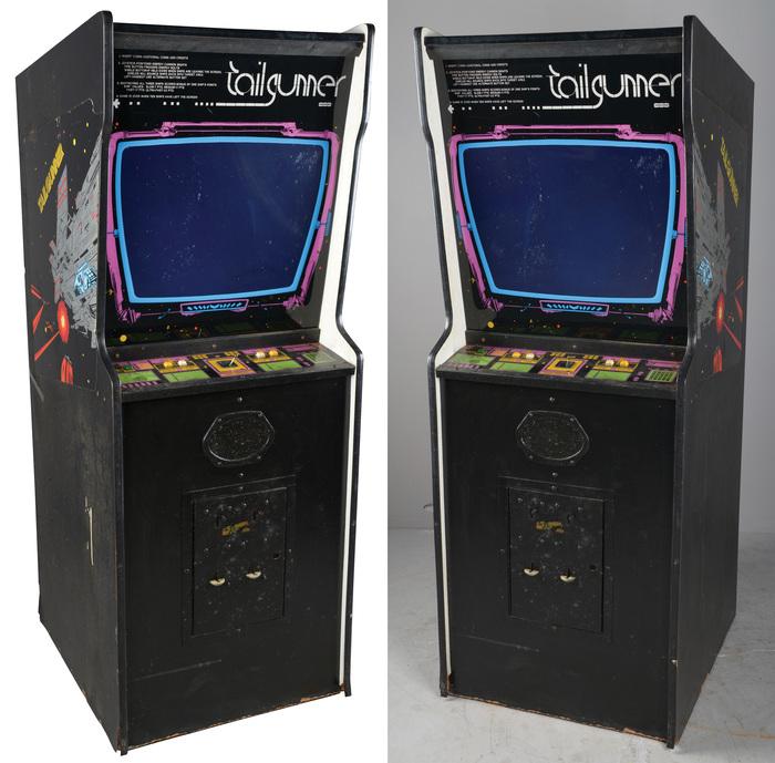 Tailgunner arcade game 1