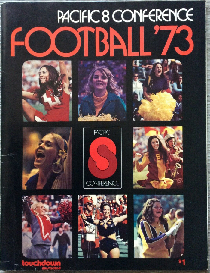 #1 Pacific 8 Conference Football '73 ft.