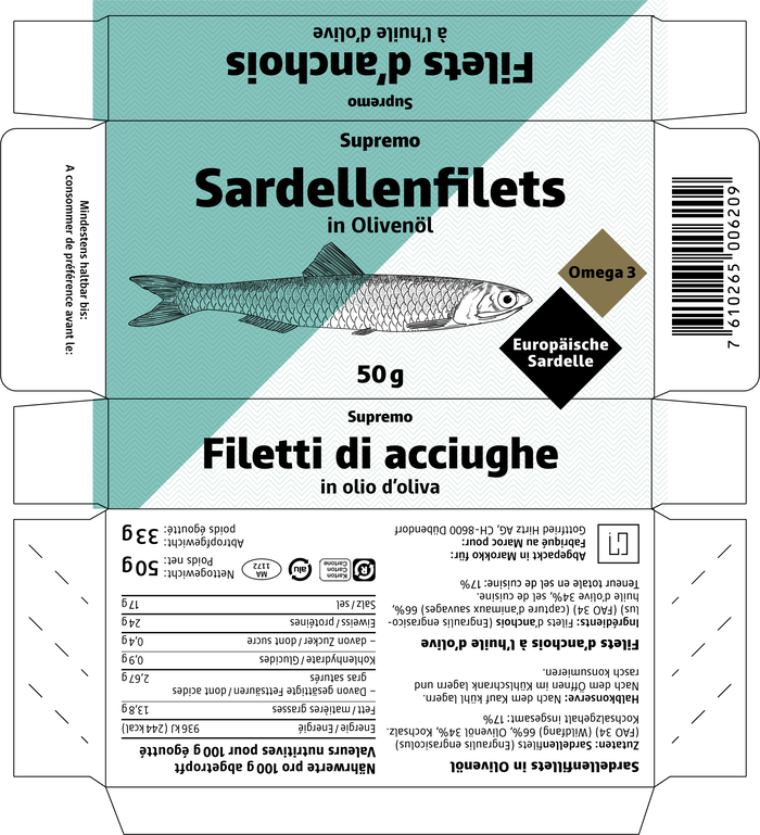 Supremo anchovy fillets 4