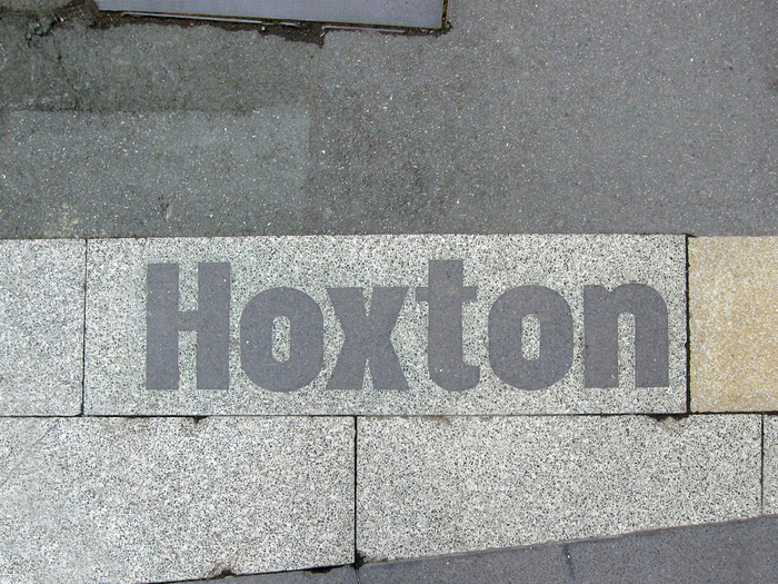Hoxton & South Shoreditch boundary signs 3