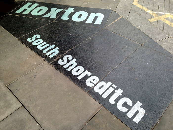 Hoxton & South Shoreditch boundary signs 4