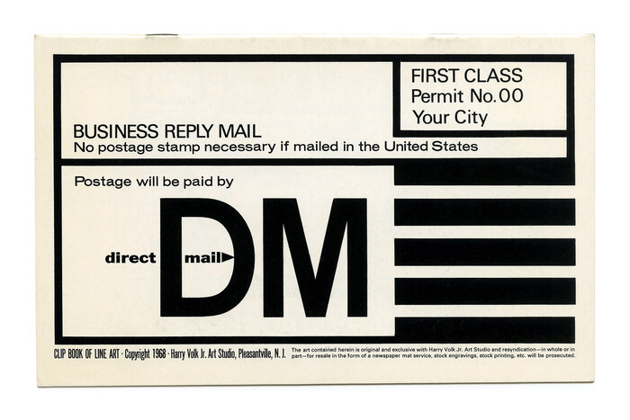 """""""Direct Mail"""" (No. 481) ft. , , and  Wide."""