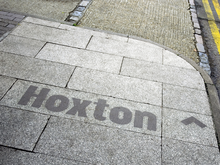 Hoxton & South Shoreditch boundary signs 1