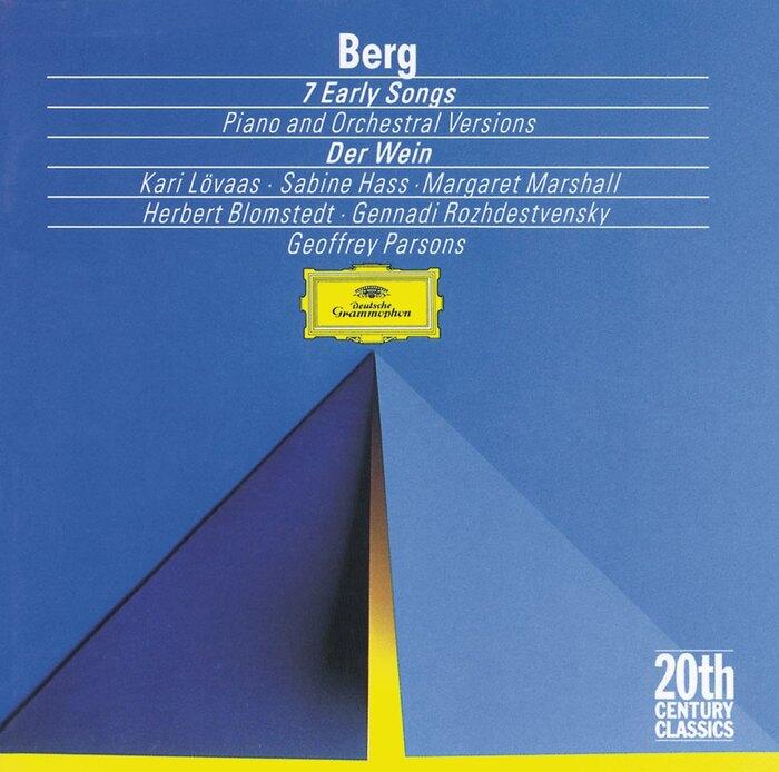 Berg: 7 Early Songs (1991)