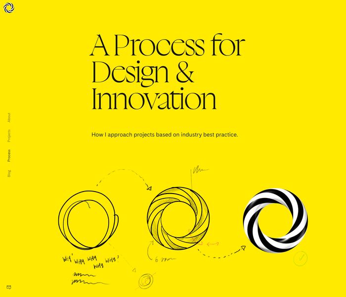 bruskowski.design portfolio website 2
