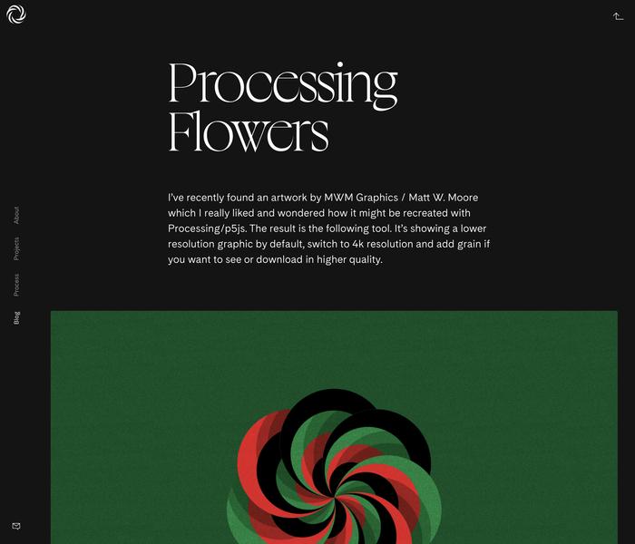 bruskowski.design portfolio website 3