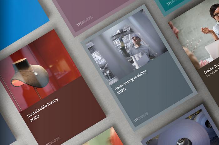 Publication covers.