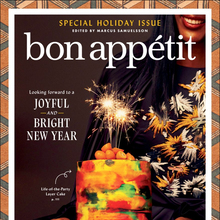 <cite>Bon Appétit</cite>, special holiday issue, December 2020