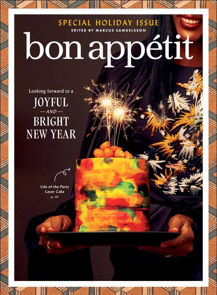 Bon Appétit, special holiday issue, December 2020 1