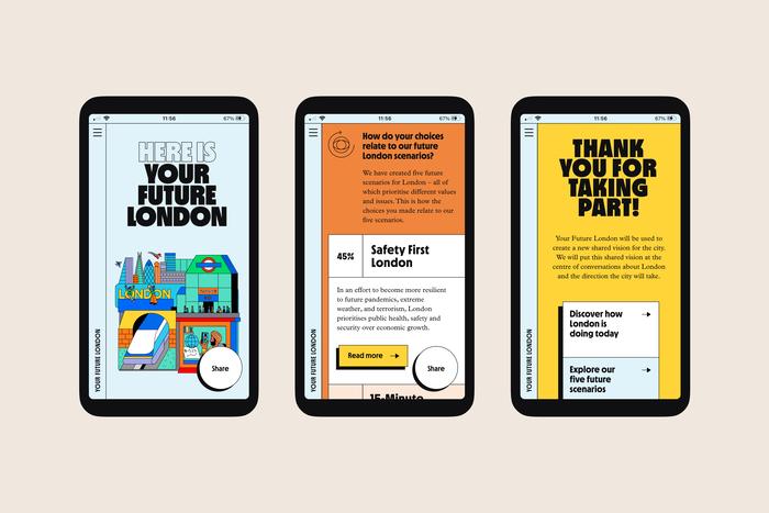 Your Future London website 2