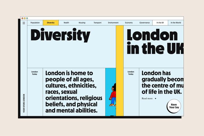 Your Future London website 3