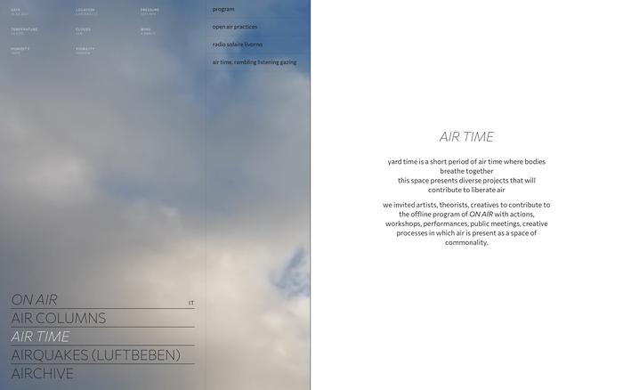 ON AIR website 5