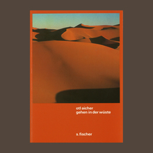<cite>Gehen in der Wüste</cite> by Otl Aicher