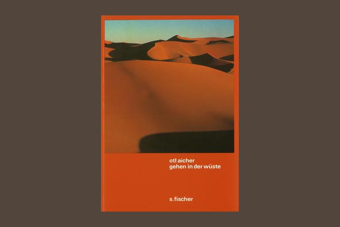 Gehen in der Wüste by Otl Aicher 1