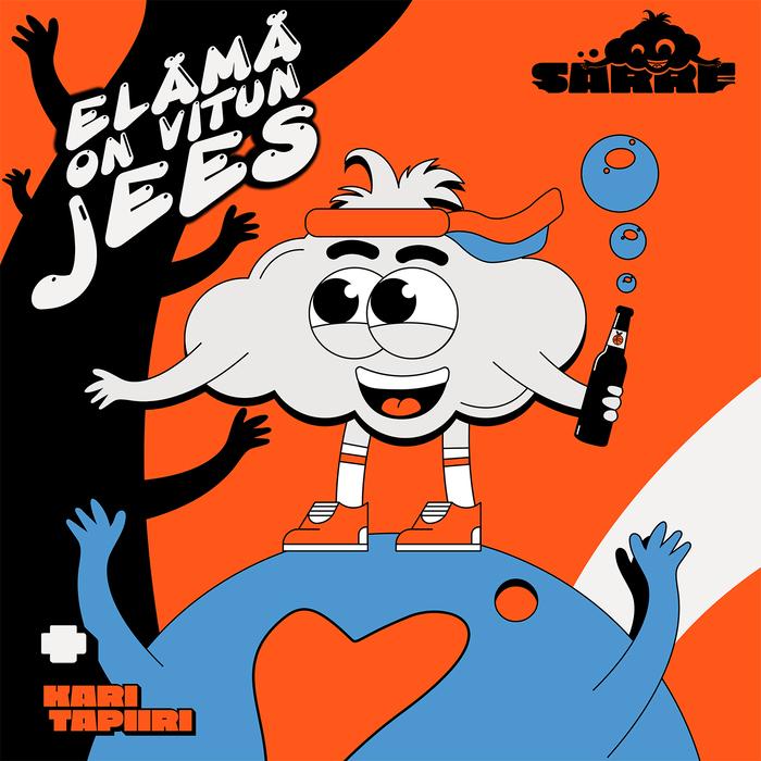 """""""Elämä On Vitun Jees"""" single cover."""