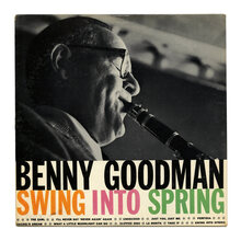 Benny Goodman – <cite>Swing Into Spring</cite> album art