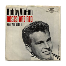 "Bobby Vinton – ""Roses Are Red (My Love)"" / ""You And I"" single cover"