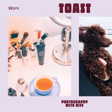 Toast photography visual identity
