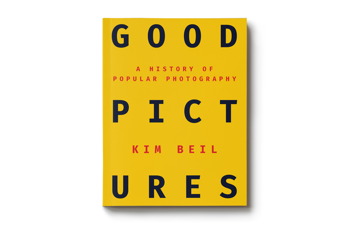 Cover design for Good Pictures: A History of Popular Photography, by Kim Beil (Stanford, 2019), designed by Kevin Barrett Kane.