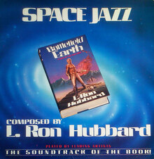 L. Ron Hubbard – <cite>Space Jazz </cite>album art
