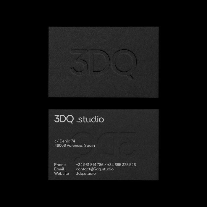 3DQ Studio identity 2