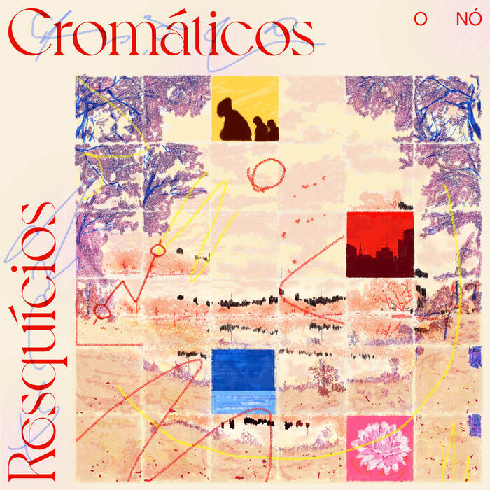 O Nó – Resquícios Cromáticos album art, singles, music videos 1