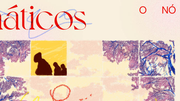 Resquícios Cromáticos album cover detail.
