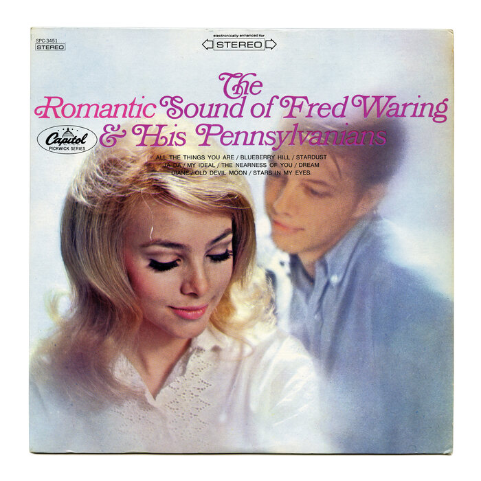 The Romantic Sound of Fred Waring & His Pennsylvanians album art