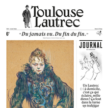 Toulouse-Lautrec at Grand Palais Paris, exhibition journal and catalog