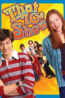 <cite>That '70s Show</cite> logo, titles, DVDs