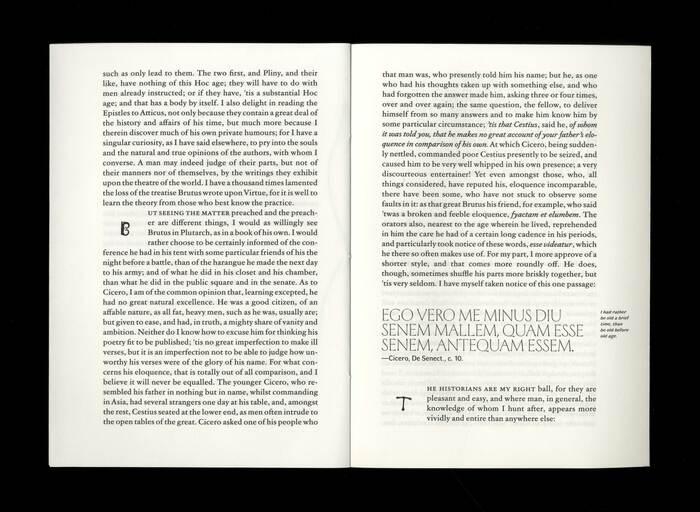 Opuscolo Editions #2, Of Books  by Michel de Montaigne 4