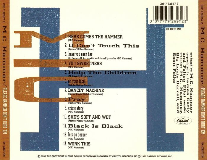 MC Hammer – Please Hammer Don't Hurt 'Em albumart 2