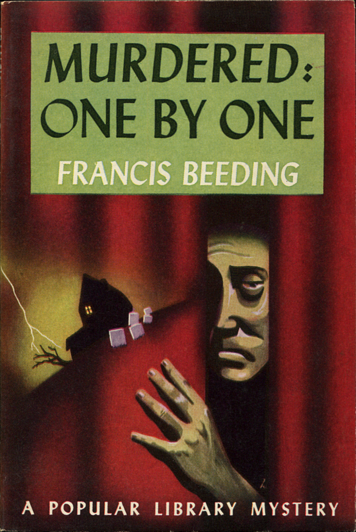 Murdered: One By One by Francis Beeding (Popular Library, 1944)