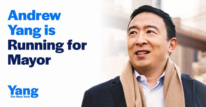 Yang for New York campaign 2
