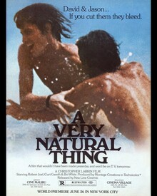 <cite>A Very Natural Thing</cite> (1974) movie poster