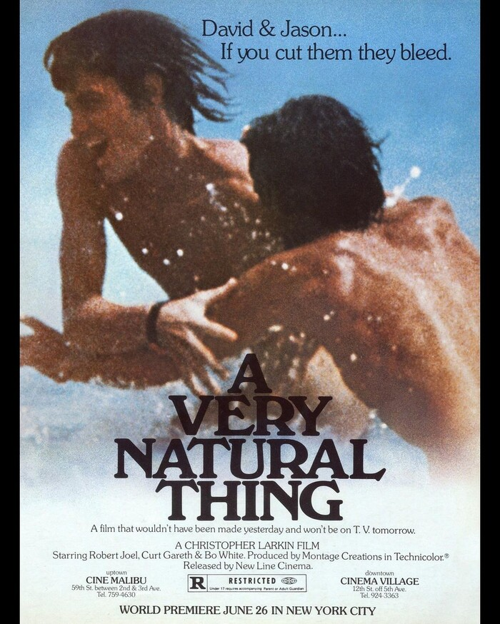 A Very Natural Thing (1974) movie poster 1