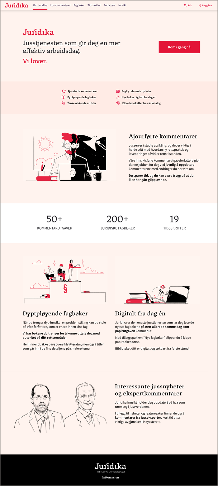 Juridika logo and website 2