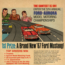 """The Contest Is On!"" ad by Aurora Plastics Corp."